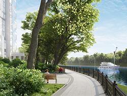 Квартиры бизнес-класса с видом на реку в ЖК «Маяк» Скидка 10% в августе